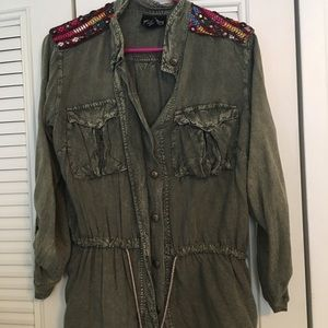 Decorated military jacket